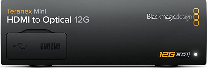 Blackmagic Design Teranex Mini - HDMI to Optical (SFP Optical Module not included) (CONVNTRM/MB/HOPT)