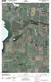 North Dakota Maps - 2011 Devils Lake Mountain, ND USGS Historical Topographic - Cartography Wall Art - 32in x 44in