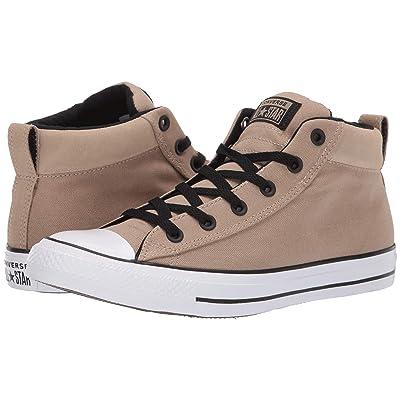 Converse Chuck Taylor(r) All Star(r) Street Uniform Mid (Khaki/Black/White) Athletic Shoes