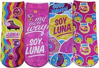 Medias niños, calcetines coloridos en paquete de 4 para niñas (31/34)