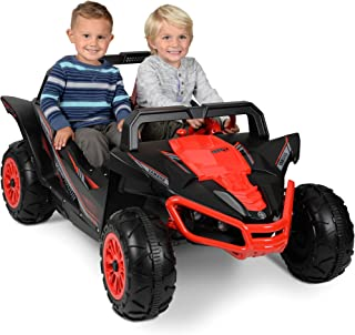 Exciting Action Packed Yamaha YXZ 12-Volt Ride-On RED/BLACK With Rugged Tires and Roll Bars,Will go as Fast as 5 MPH - Great Gift!