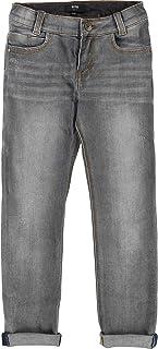 BOSS Boys Basic Denim Pants Gray, Sizes 6-16