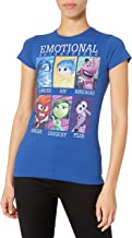 Disney Fifth Sun Juniors Inside Out Yearbook Graphic Tee