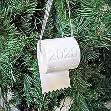 2020 Toilet Paper Quarantine Christmas Ornament | Covid-19 Pandemic Christmas Ornament Christmas Ornament