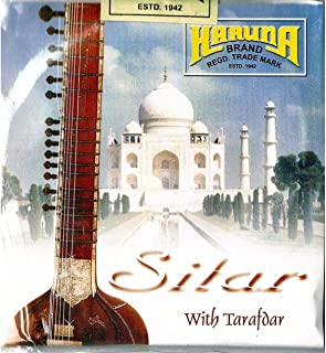 Sitar Strings complete set with sympathetic Tarabh strings 7+11,(Karuna) Complete string of Sitar