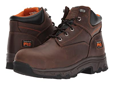 Timberland PRO Workstead 6 Composite Safety Toe (Brown Full-Grain Leather) Men