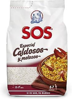 Arroz SOS Especial Caldoso Y Meloso 1 Kg - [Pack De 10] - Total 10 Kg
