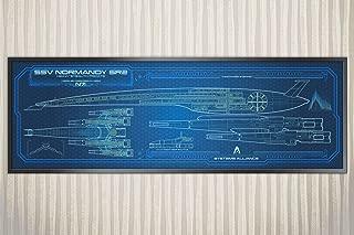 SSV Normandy SR2 - Mass Effect - 36 x 11.75 (Panoramic Print)