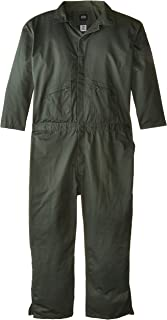 Key Apparel Big&Tall Deluxe Unlined Long Sleeve Coverall, Loden Green, XXXXLarge-Regular