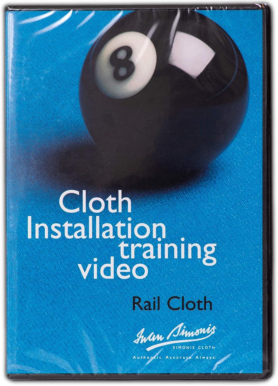 Iwan Max 62% OFF Simonis Billiard Pool Table Installation Cloth DVD Same day shipping Training