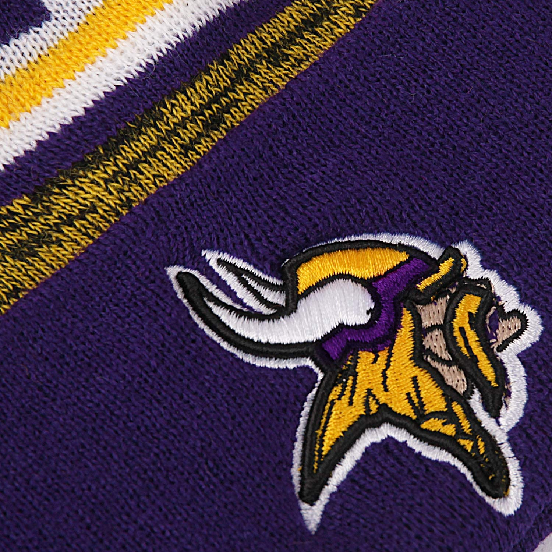 No//Brand Football Team Fans Winter Hats Cuffed Stylish Sports Beanie Hat with POM POM Toque Cap