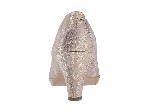 Peep Black Calf Rock Sleek ECCO LeatherMoon 55 Shape Toe Cw6C1Uq