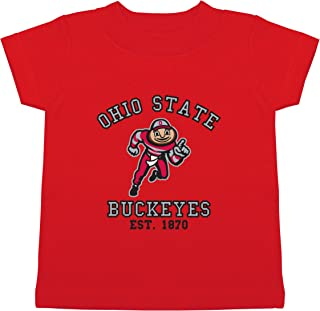 NCAA Ohio State Buckeyes Children Unisex Short Sleeve Tshirt