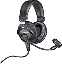 Audio-Technica BPHS1 Broadcast Stereo Headset with Dynamic Cardioid Boom Mic (Renewed)