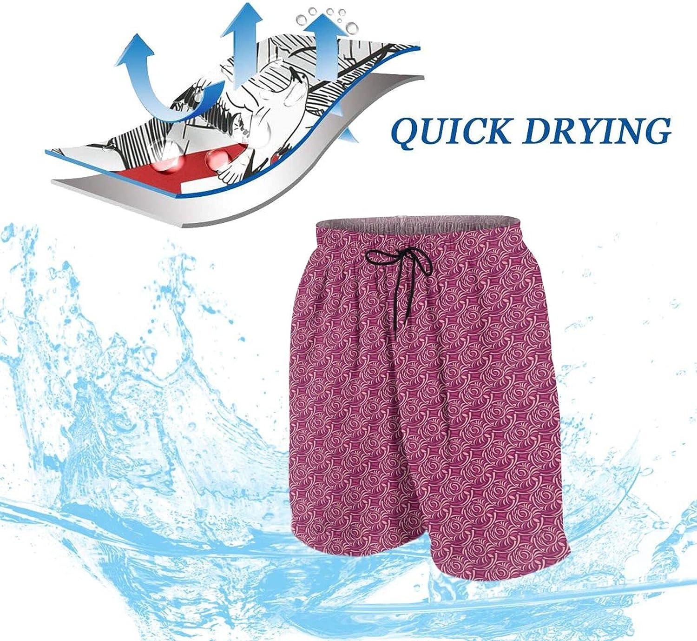 Padoni Mens Swim Trunks Quick Dry Swim Shorts M-XXL