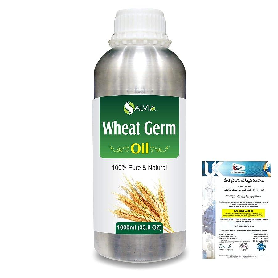 伝統的それる天窓Wheat Germ (Triticum aestivum) 100% Natural Pure Essential Oil 1000ml/33.8fl.oz.