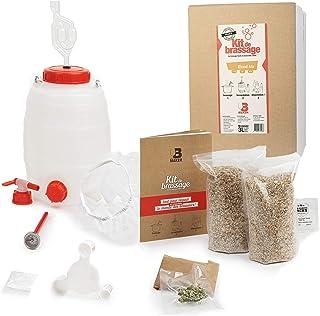 B Maker - Kit Biere Blond Ale - IDEE Cadeau Homme Femme - Kit Brassage Biere a Faire Soi Meme pour Fabriquer sa Bière à la...