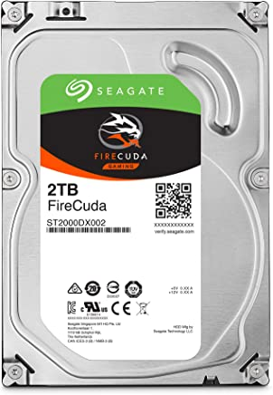 Seagate FireCuda 2TB Solid State Hybrid Drive Performance SSHD – 3.5 Inch SATA 6Gb/s Flash Accelerated for Gaming PC Laptop (ST2000DX002)