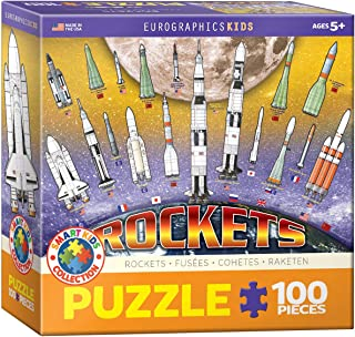 Eurographics - Rockets 100-Piece Puzzle