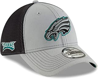New Era Philadelphia Eagles NFL 39THIRTY 2T Sided Flex Fit Meshback Hat - Gray