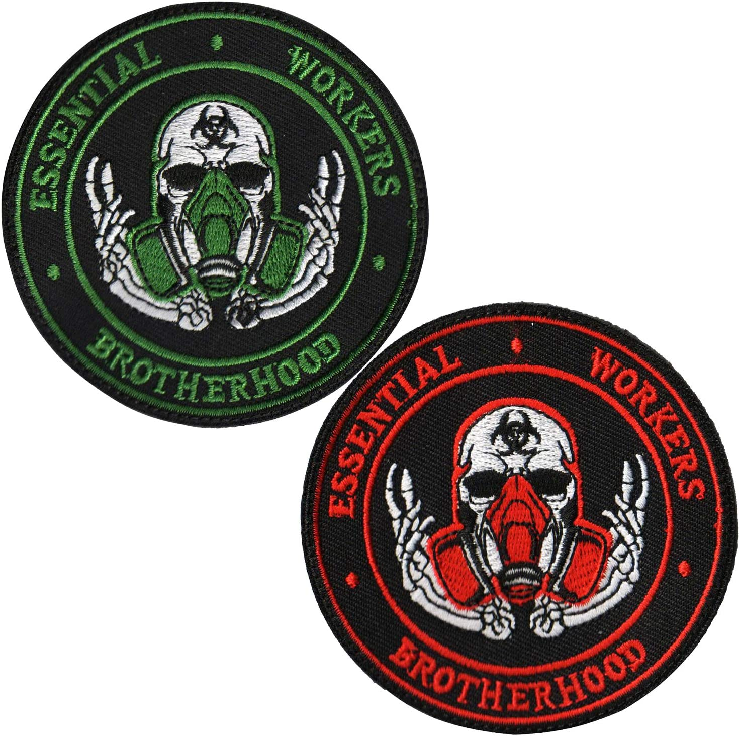 ODSP Spring new work Brotherhood Essential Workers Embroidered - Patch Emblem Ta Oklahoma City Mall