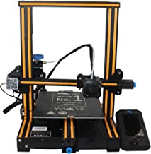 WOL 3D UPGRADED Creality Ender 3 V2 Model 2021 With Orange strip, Upgraded 3D Printer with Silent Motherboard, Branded Pow...