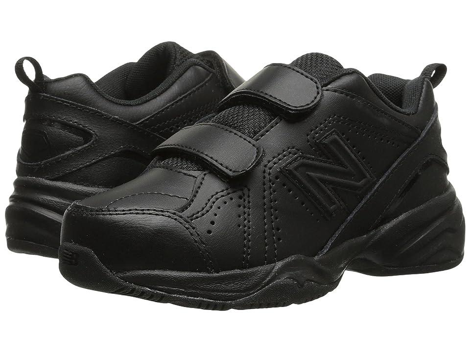 New Balance Kids KV624 (Little Kid/Big Kid) (Black) Kids Shoes