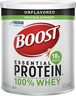 Boost Nutritional Drinks Essential Protein Powder, 8 Oz Canister, 1 pack