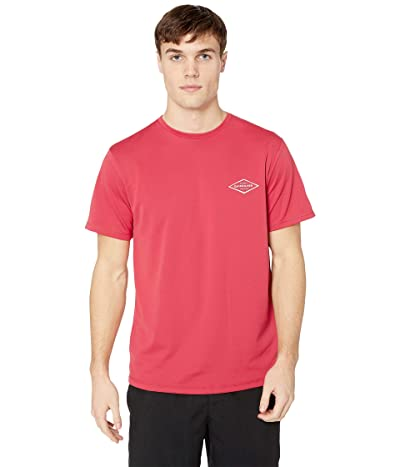 Quiksilver Waterman Gut Check Short Sleeve (Cardinal) Men