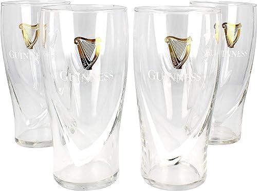 Guinness 20Oz Gravity Pint Glass (4 Pack)