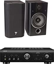 Focal Chorus 605 Two-Way Bookshelf Speakers (Pair) and Denon PMA-800NE Integrated Amplifier Bundle