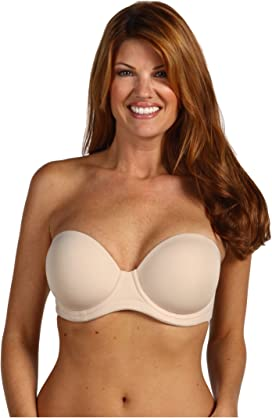 f852410647c Le Mystere Soiree Full Fit Strapless Bra 9756 at Zappos.com