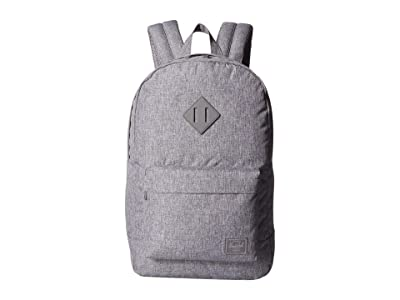 Herschel Supply Co. Heritage Mid-Volume Light (Raven Crosshatch) Backpack Bags