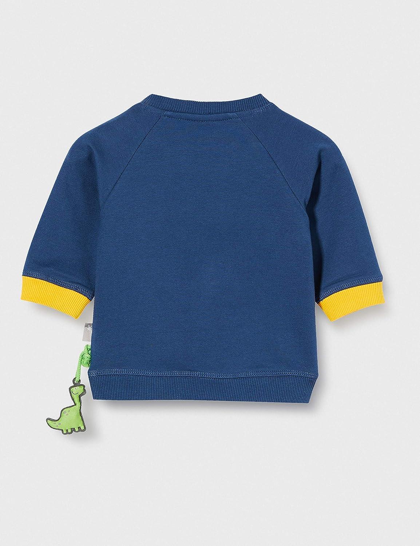 Sigikid Baby-Jungen Langarmshirt Pullover,