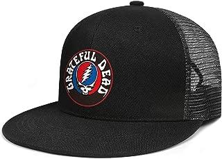 Flatbrim Mesh Baseball Caps Snapback Adjustable Fits Dad Hat Breathable Unique for Unisex