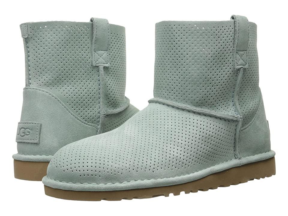 UGG Classic Unlined Mini Perf (Aloe Vera) Women