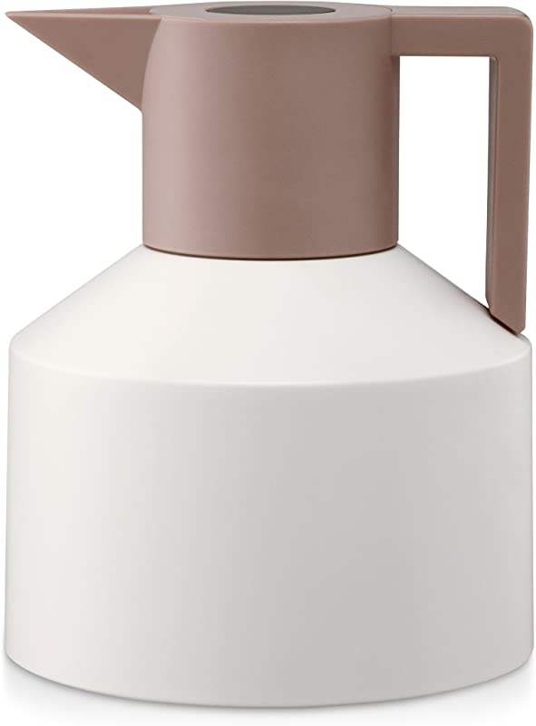 Geo Thermo Pot Normann Thermo Vacuum Flask White