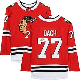 Kirby Dach Chicago Blackhawks Autographed Red Fanatics Breakaway Jersey - Fanatics Authentic Certified