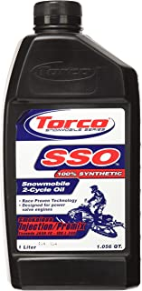 Torco S960066CE SSO 2-Cycle Synthetic Smokeless Snowmobile Oil