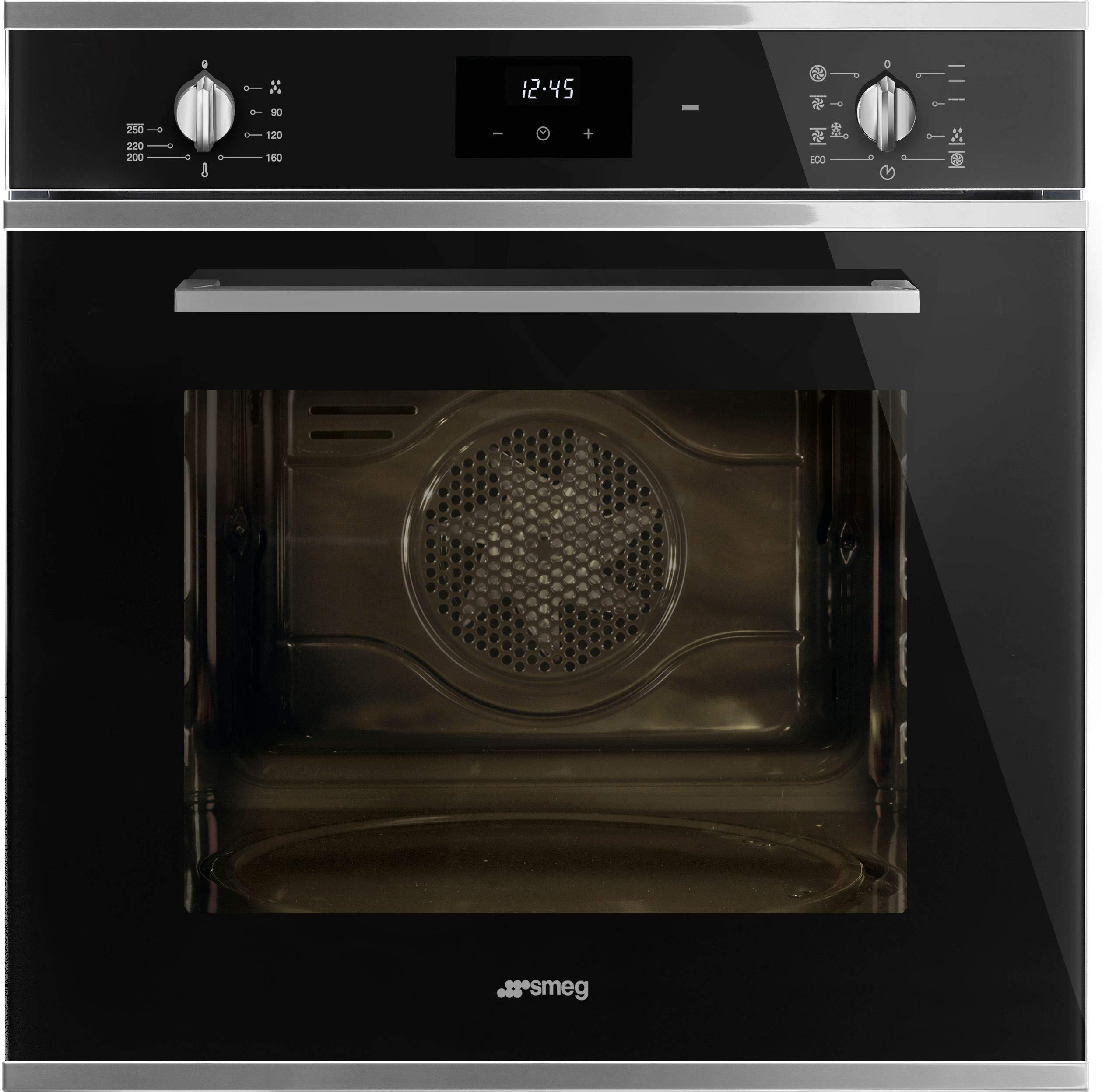 Smeg SF6400TVN Cucina - Horno individual multifunción (60 cm), color negro: Amazon.es: Grandes electrodomésticos