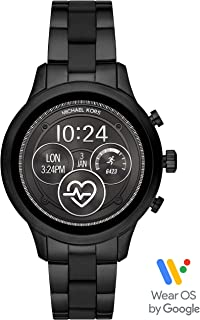 Michael Kors Women's Quartz Smartwatch smart Display and Stainless Steel Strap, MKT5058