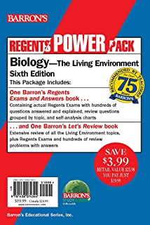 Regents Biology Power Pack: Let's Review Biology + Regents Exams and Answers: Biology (Barron's Regents NY)
