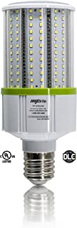 30W LED Corn Light Bulb - Natural White 5000K, Replaces 300W Incandescent, 3,450 Lumens, Mogul Base E39, 100-277V AC UL/cUL DLC