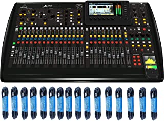 Digital Mixer Bundle: Behringer X32 40-Channel 25-Bus Digital Mixing Console with 16 x 25-Foot XLR Cables