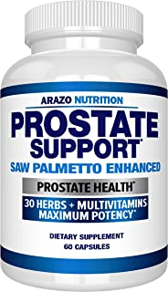 Prostate Supplement - Saw Palmetto + 30 Herbs - Reduce Frequent Urination, Remedy Hair Loss, Stamina – Single Homeopathic ...