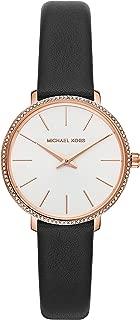 Michael Kors Women's Quartz Wrist Watch analog Display and Leather Strap, MK2835