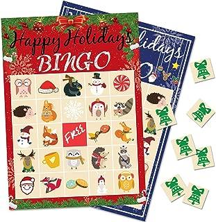 Best christmas bingo set Reviews