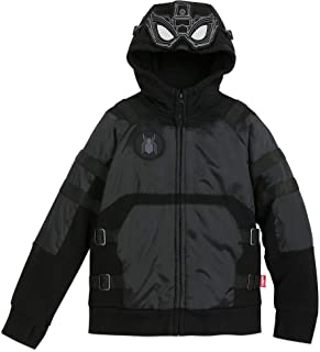 Miles Morales Hooded Jacket - Spider-Man: Far from Home Black