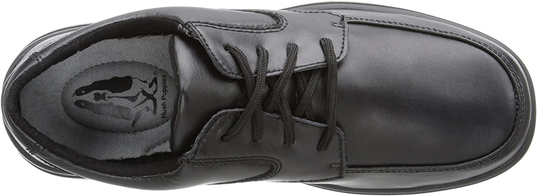 Hush Puppies Unisex-Baby TY Dress Shoe, Black, 1.5M