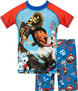 Disney Boys Coco Swim Set